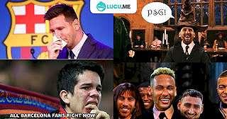 7 Meme Lucu 'Messi Gabung PSG' Ini Bikin Ngakak Fans Karbitan