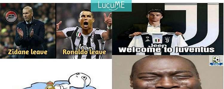 10 Meme 'Ronaldo Pindah Ke Juventus' Ini Bikin Galau Fans Real Madrid