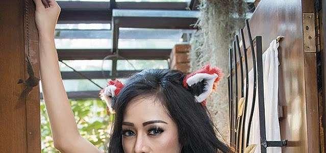 Galeri Foto Seksi Nheyla Putri Di Popular Magazine