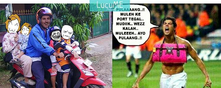 8 Meme Messi & Ronaldo Pulang Kampung Bareng, Kocak Parah!