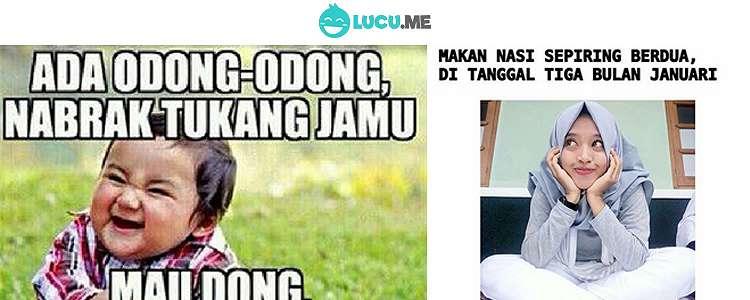 10 Meme 'Pantun Rayuan Gombal' yang Bikin Gebetan Meleleh